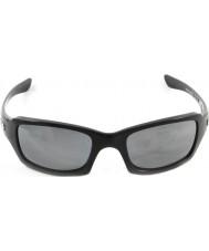 Oakley Oo9238-06 piątki kwadratu polerowane Black - czarna iryd spolaryzowane okulary