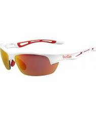 Bolle 12204 śruby białe okulary przeciwsłoneczne