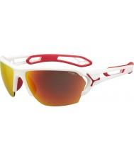 Cebe Cbstl11 s-track białe okulary przeciwsłoneczne