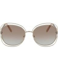Chloe Damskie okulary przeciwsłoneczne ce119s 724 60 carlina