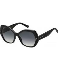Marc Jacobs Panie Marc 117-s 807 9o czarne okulary