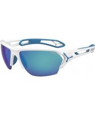 Cebe Cbstl12 s-track białe okulary przeciwsłoneczne
