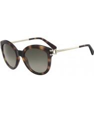 Longchamp Damskie okulary przeciwsłoneczne lo 604s 214 55