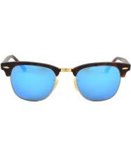 RayBan Rb3016 piórko żółwiek klubowy - niebieskie lustro