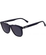 Lacoste Mężczyźni l822s niebieskie okulary
