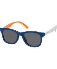 Polaroid Dzieci pld8001-S t20 Y2 niebieskie okulary polaryzacyjne