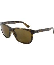 RayBan Rb4181 57 Highstreet światło spolaryzowane okulary szylkret 710-83