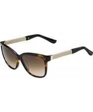Jimmy Choo Cora-S Women FA5 jd Hawana brokatowe okulary