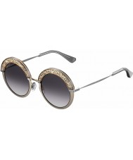 Jimmy Choo Gotha-S Ladies 68i 9c 50 nagich palladu okulary