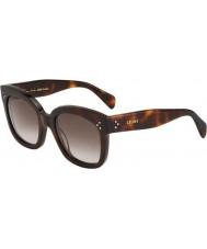Celine Panie cl 41805-s 05L ha skorupa żółwia okulary