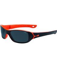 Cebe S-picy (wiek 7-10) Matt Black pomarańczowe okulary