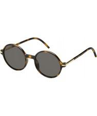 Marc Jacobs Mężczyzna Marc 48 s TLR 8h Hawana okulary