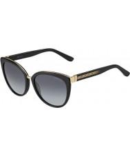 Jimmy Choo Panie Dana-ów 10e hd czarne okulary