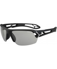 Cebe średnie S-track Matt Black variochrom Perfo okulary