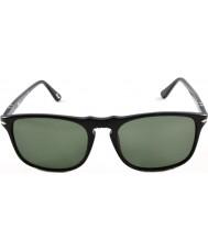 Persol Po3059s 54 Suprema czarne okulary 95-31