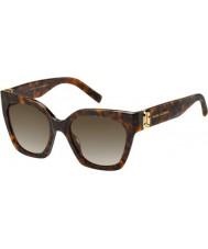 Marc Jacobs Ladies marc 182-s 086 ha okulary przeciwsłoneczne