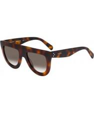 Celine Panie cl 41398-S 05L z3 Havana okulary