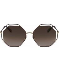 Chloe Damskie ce132s 213 58 makowych okularów przeciwsłonecznych