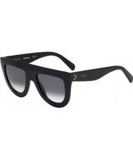 Celine Panie cl 41398-s 807 W2 czarne okulary