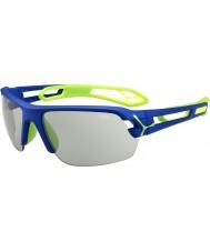 Cebe S-śledzić średnie granatowe zielone variochrom Perfo okulary