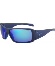 Cebe Utopy matt blue 1500 szara lampa lustro niebieskie okulary