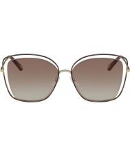 Chloe Damskie ce133s 205 60 makowych okularów przeciwsłonecznych