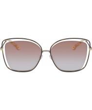 Chloe Damskie okulary przeciwsłoneczne ce133s 211 60 makowe