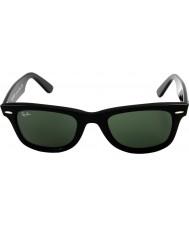 RayBan RB2140 54 oryginalne czarne zielone 901 wayfarer okulary