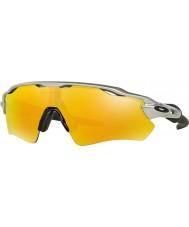 Oakley Oo9208-02 ev radaru ścieżki srebrna - iryd ogień okulary