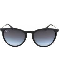 RayBan Rb4171 gumowe 54 Erika czarne okulary 622-8g