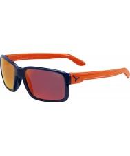 Cebe Dude błyszczące niebiesko pomarańczowe okulary