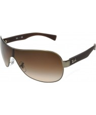 RayBan Rb3471 32 młodzik matte gunmetal 029-13 okulary