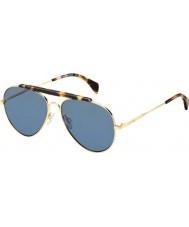 Tommy Hilfiger Th 1454-S 000 72 wzrosła złote okulary
