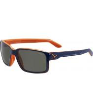 Cebe Koleś niebieski z pomarańczowym w okularach