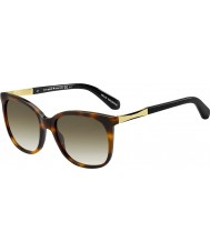 Kate Spade New York Panie julieanna-s crx cc ciemne Hawana złote okulary