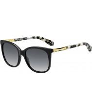 Kate Spade New York julieanna-ów Women ANW f8 czarne złote okulary