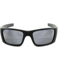 Oakley matowy Oo9096-05 ogniwo paliwowe czarno - szary spolaryzowane okulary