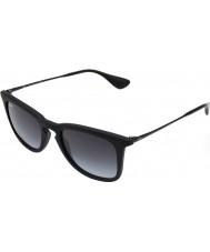 RayBan Rb4221 50 młodzik czarne okulary 622-8g