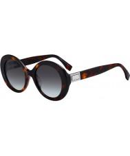 Fendi Damskie ff0293 s 086 ib 52 okulary przeciwsłoneczne
