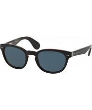 Ralph Lauren Rl8130p kolekcja 50 dziedzictwo top czarny na jerry żó_w 5260r5 okulary