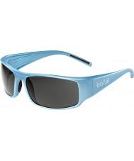 Bolle Książę jr. błyszczące niebieskie okulary TNS