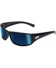 Bolle Python czarne niebieskie okulary polaryzacyjne morskie