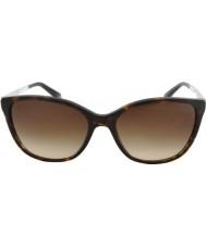 Emporio Armani Ea4025 55 nowoczesnych ciemne okulary Havana 502613