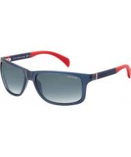 Tommy Hilfiger Th 1257-S 4nk JJ niebieskie czerwone okulary