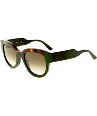 Marni me600s Ladies Hawany i zielone okulary