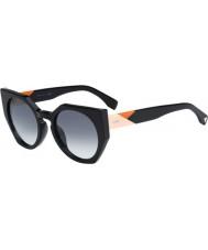 Fendi Oblicza FF 0151-s 807 JJ czarne okulary