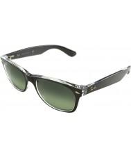 RayBan Rb2132-52 nowa Wayfarer szczotkowanego brązu na przejrzystych 6143-71 okulary