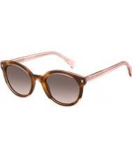 Tommy Hilfiger Panie TH 1437-S lq8 3x różowe okulary Hawany