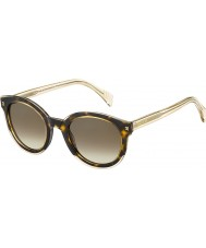 Tommy Hilfiger Panie TH 1437-S KY1 J6 żółtych Hawany beżowe okulary